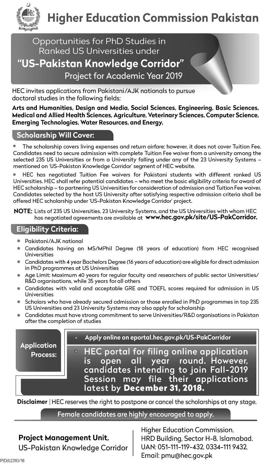 Kgsp 2019 Undergraduate Application Form Pdf